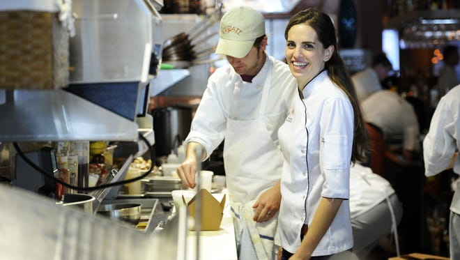 Katie Button is a chef and co-owner of the restaurant Curate.  Her mother, Liz, manages operations.   6/30/11 - Erin Brethauer (ebrethau@citizen-times.com)