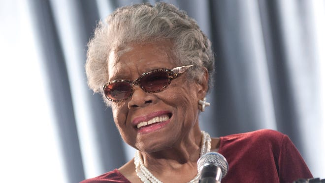 Maya Angelou speaks during the AARP Magazine's 2011 Inspire Awards at Ronald Reagan Building on December 9, 2010 in Washington, DC.