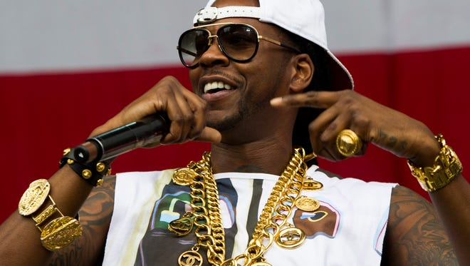2 Chainz performing at the 2013 Budweiser Made in America Festival in Philadelphia, Pa on Aug. 31, 2013.