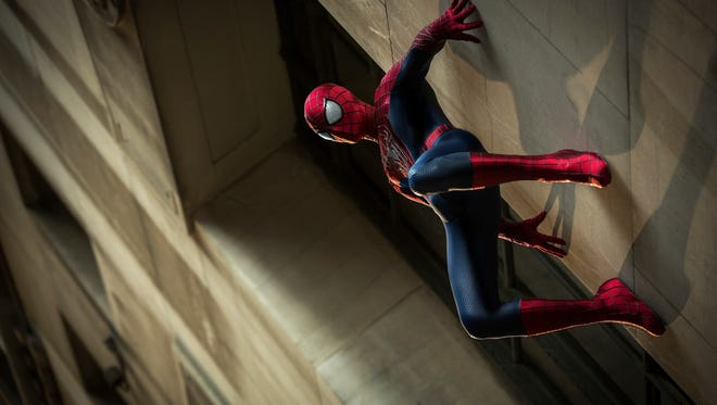 "Andrew Garfield stars as Spider-Man in ""The Amazing Spider-Man 2,"" also starring Emma Stone."
