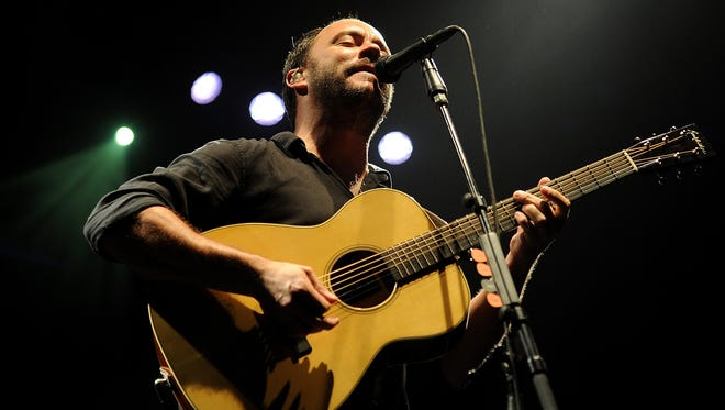 File Photo of Dave Matthews and the Dave Matthews Band.