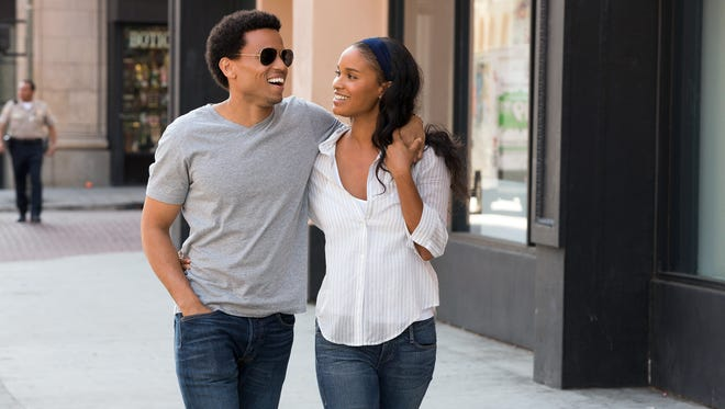 Michael Ealy, left, and Joy Bryant star in the new romantic comedy 'About Last Night.'