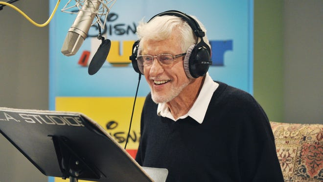 """Legendary actor and comedian Dick Van Dyke records the role of Captain Goof-Beard, Goofy's long-last Grandpappy, for an upcoming episode of Disney Junior's hit animated series """"Mickey Mouse Clubhouse."""""""