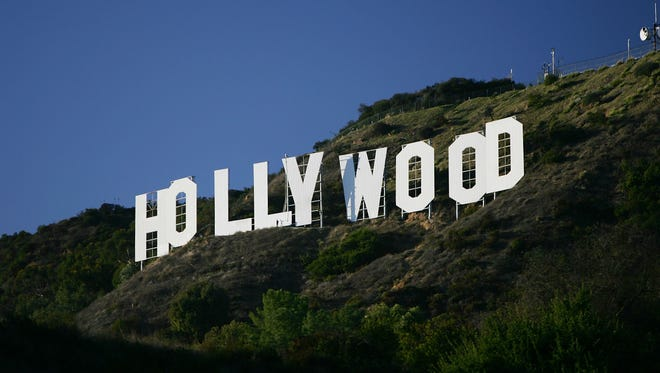 The Hollywood sign was built in 1923 by Los Angeles Times publisher Harry Chandler.