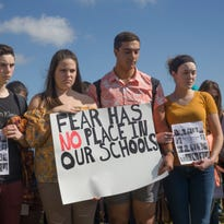 Student walkout:  Shore teens demand action on school shootings