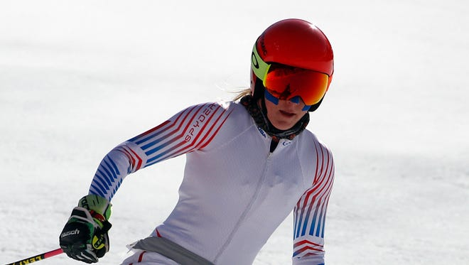 Mikaela Shiffrin  is a favorite to defend her Olympic title in slalom.