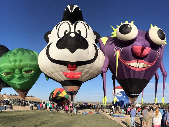 The El Paso Balloon Festival will take flight once