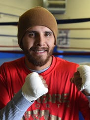 Oscar Vasquez is on Friday's card for the pro boxing