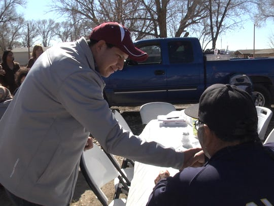 "A frame from ""Mayors of Shiprock"" shows then Northern"