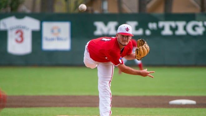 UL reliever Brett Williams threw 5.0 innings with just one run allowed in Saturday's 8-5 loss to Troy.