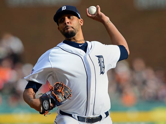 MLB: ALDS-Baltimore Orioles at Detroit Tigers