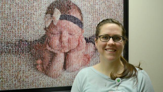 Pediatrician Dr. Abigail Chudzinski returned to Fremont this year to take care of the county's youngest residents at ProMedica Memorial Hospital.
