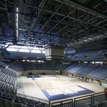 Ole Miss remains on track to open its new basketball arena on Jan. 7.