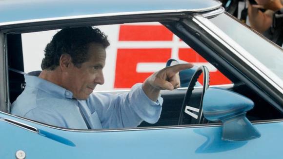 Gov. Andrew Cuomo visited the Watkins Glen racetrack