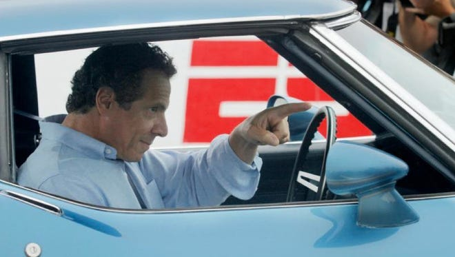 Gov. Andrew Cuomo visited the Watkins Glen racetrack in 2013
