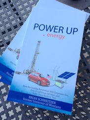 The cover of the book by former Gov. Brian Schweitzer.