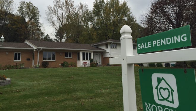 Ranch-style home recently sold on Warren Avenue in Brighton