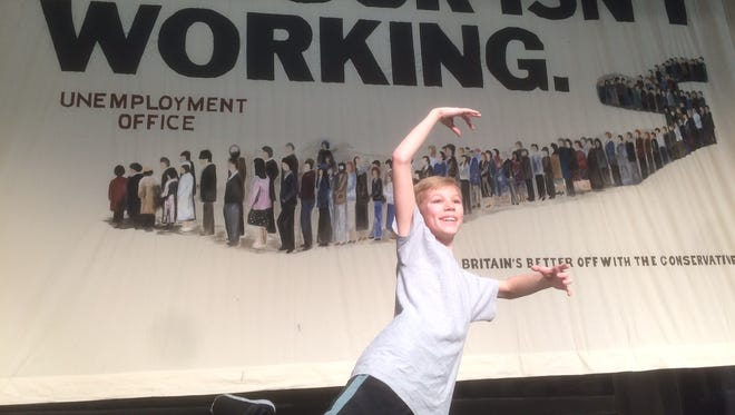 """Trenton Wiltse will play the main character in the Kimberly High School production of """"Billy Elliot."""""""