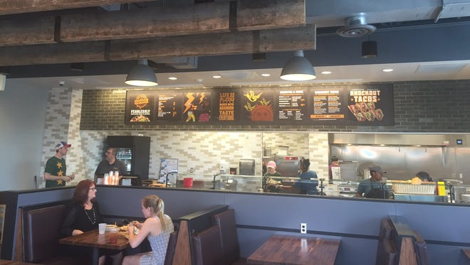 The newest Qdoba in Penfield.