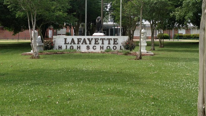 A large number of students at Lafayette High School took and passed AP exams last year.
