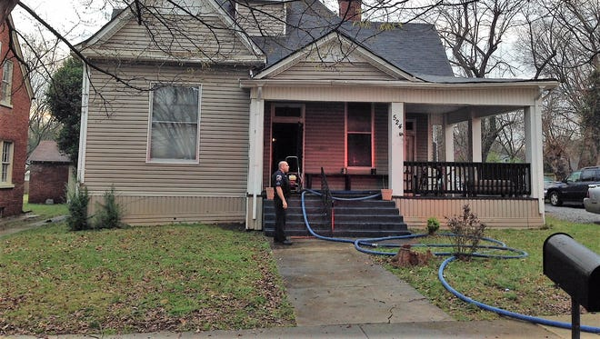 One person was flown to a hospital with burns after a house fire early Saturday in Murfreesboro.