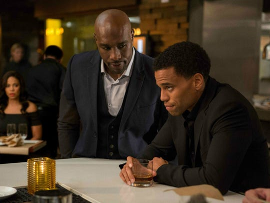 Morris Chestnut and Michael Ealy square off in 'The