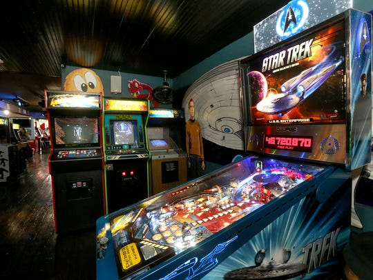 A variety of games are available to play at the new