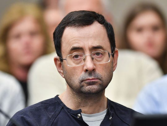 Ingham County (Michigan) Circuit Court Chief Judge Richard Garcia ruled Tuesday, Aug. 14, 2018, that Judge Rosemarie Aquilina can remain on the Larry Nassar case, despite his attorneys' attempts to disqualify her. Nassar is seeking a new sentence on the seven sexual assault charges in Ingham County. Aquilina sentenced him to 40 to 175 years in prison.