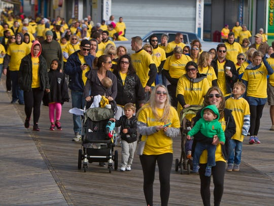 The 2nd annual Celebration of Hope Walk presented by Hope Sheds Light takes place on the boardwalk. The walk is held to raise awareness about drug and alcohol addiction and services available to help addicts as well as their families.