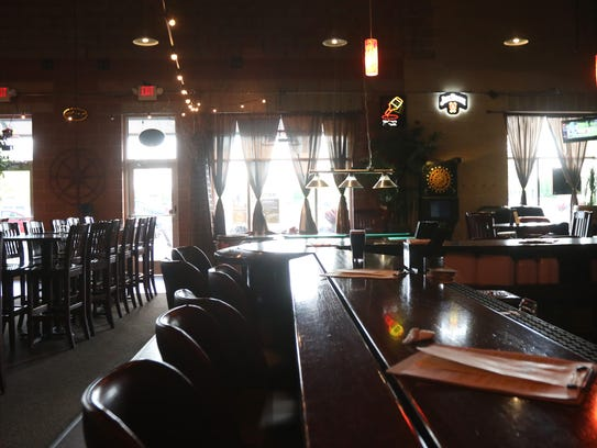 The interior of Mikey's Bar and Grill, September 14,