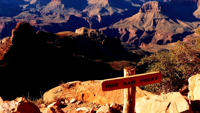 Ooh Aah Point at Grand Canyon National Park.