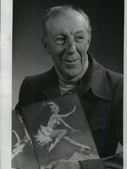 "Harland ""Pokey"" Waddell, shown in this 1976 photo, wrote the music for the first Holiday on Ice show at the State Fair Park Coliseum in West Allis."