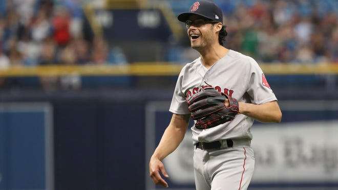 Red Sox reliever Joe Kelly