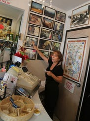 Pina Simone, owner of the Pasta House in Windsor's