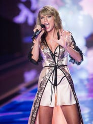 Taylor Swift belts it out in her second Victoria's