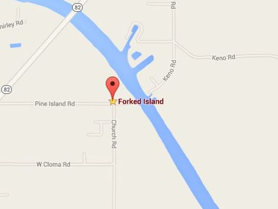 Forked Island