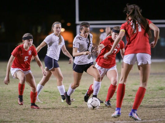 La Quinta defeated Palm Desert, 4-0, Monday.