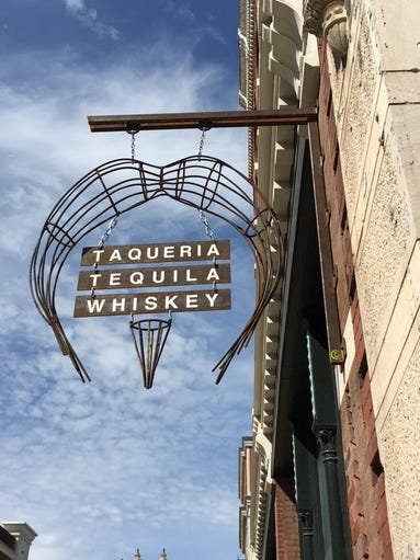 Chiva Taqueria, tequila and whiskey is slated to open by the middle of June. It's located at 314 S. Gay Street. Mary Constantine/News Sentinel staff