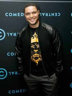 Trevor Noah attends the Comedy Central Roast of Steve Hofmeyer at the Lyric Theatre, Gold Reef City on September 11, 2012, in Johannesburg, South Africa.