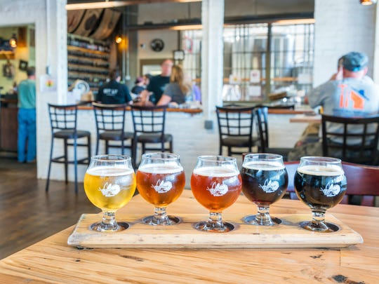 Firefly Hollow Brewery offers craft beers on tap for