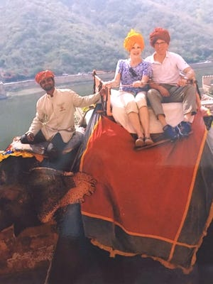 Keith and Nan Jensen were scheduled to return to Cincinnati on Saturday after their two-week excursion in India.