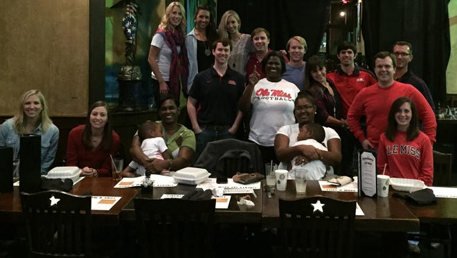 The Upstate SC Ole Miss Club held its first watch party when the Rebels took on Vanderbilt.