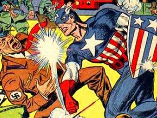 From Captain America's '40s debut, by Joe Simon and