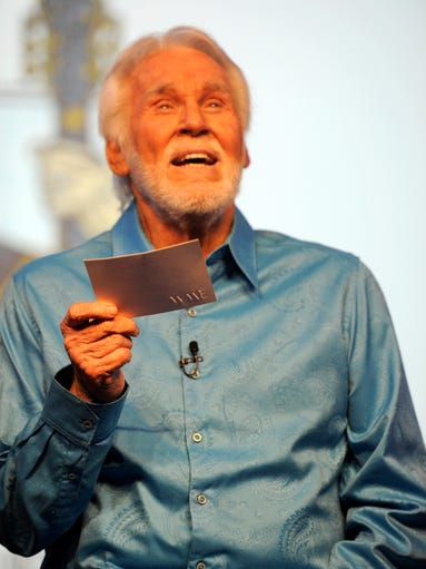 Kenny Rogers speaks at a press conference Tuesday,