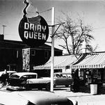 The Dairy Queen at North Virginia and Sixth streets is no more. Here it is in the late 1950s or early 1960s.