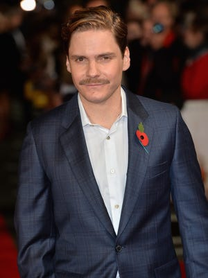 """Daniel Bruhl attends the """"Burnt"""" European premiere at the Vue West End on Oct. 28, 2015 in London."""