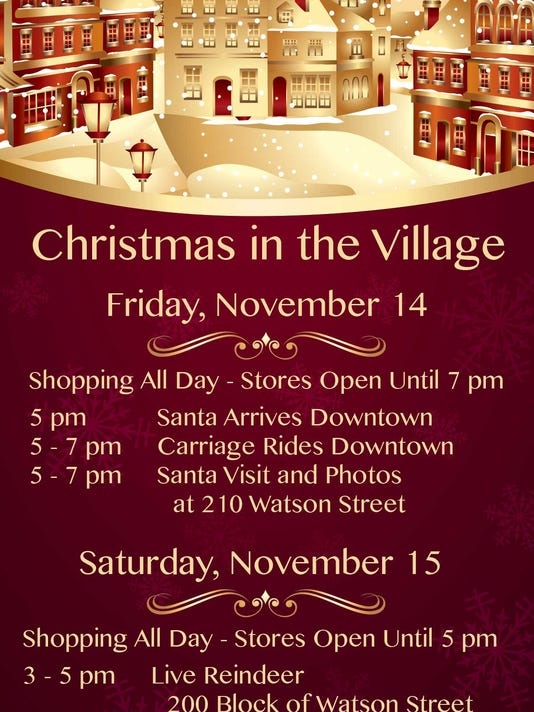 ripons christmas in the village nov 14 15 - Stores Open On Christmas 2014
