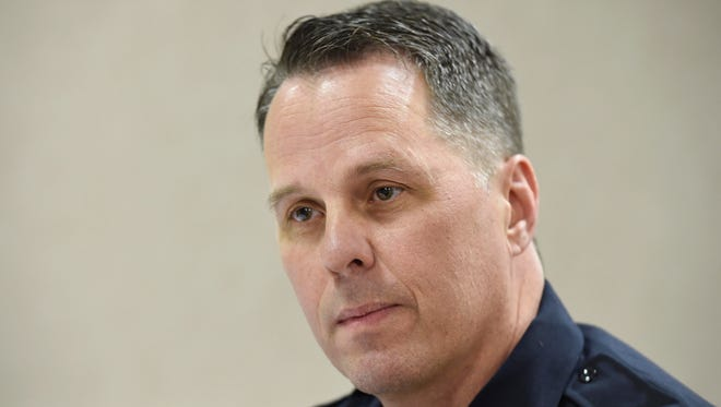 """Murfreesboro Police Chief James """"Karl"""" Durr started the job April 4."""