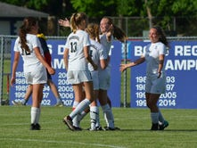 First goal of her career helps freshman lead Marshall to regional semifinal win in soccer