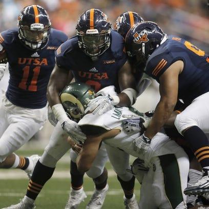 Colorado State Rams running back Izzy Matthews (35)